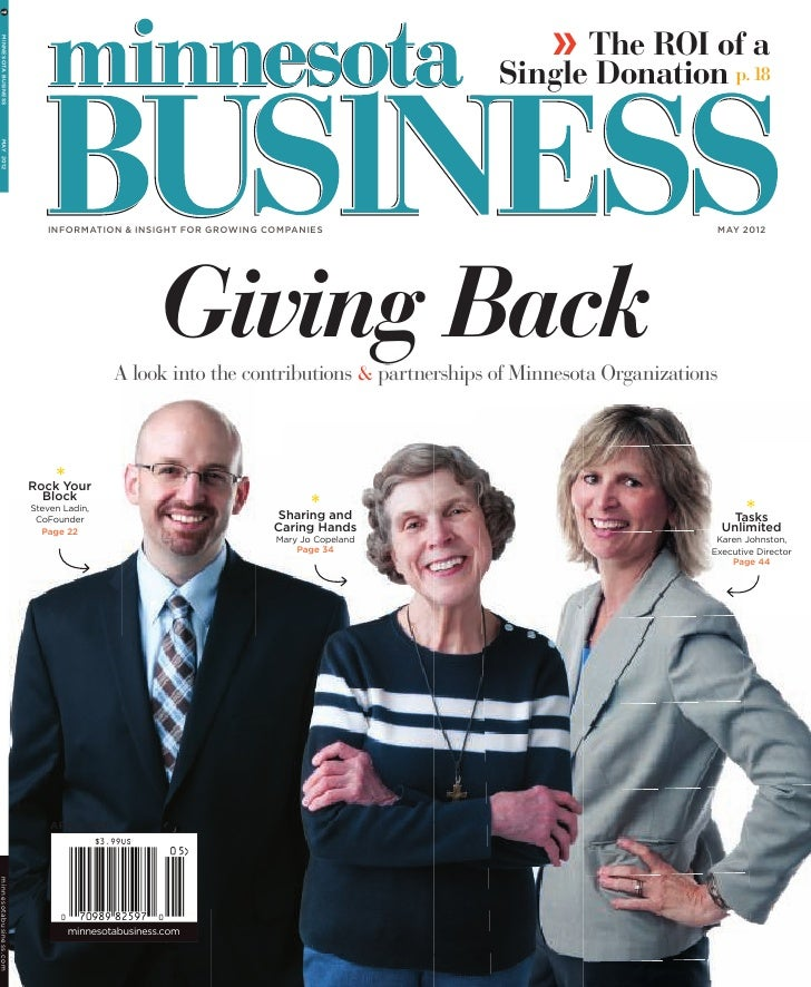 » The ROI of a  MINNESOTA BUSINESS                                                                                      Si...