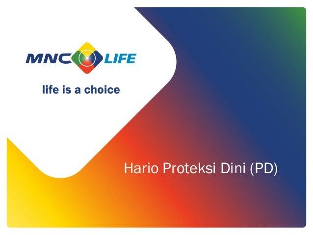 Hario Proteksi Dini (PD)