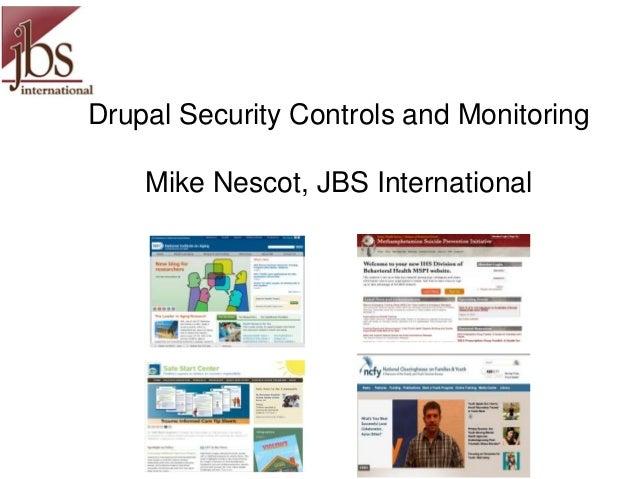 Mnescot controls monitoring