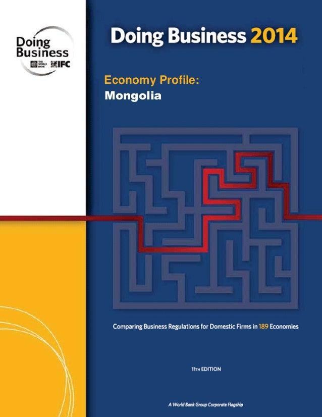 Economy Profile: Mongolia