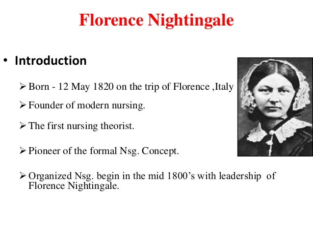 florence nightingale pursues her dream essay Florence nightingale was born in florence, italy on may 12, 1820 during the crimean war, she and a team of nurses improved the unsanitary conditions at a british base hospital, reducing the death count by two-thirds her writings sparked worldwide health care reform in 1860 she established st.