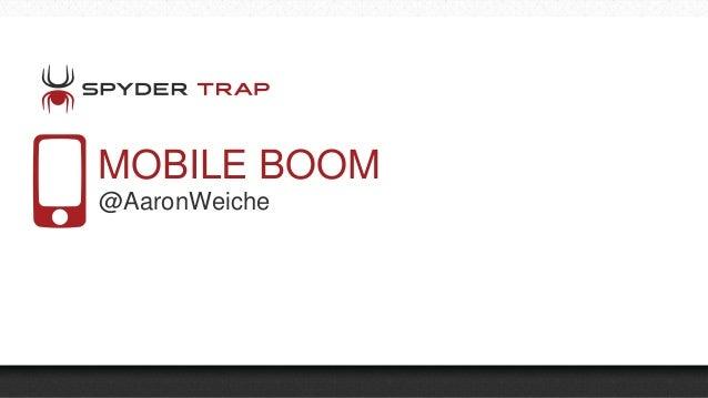 MOBILE BOOM @AaronWeiche
