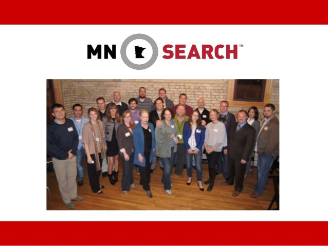 www.mnsearch.org @MnSearch #mnsearch