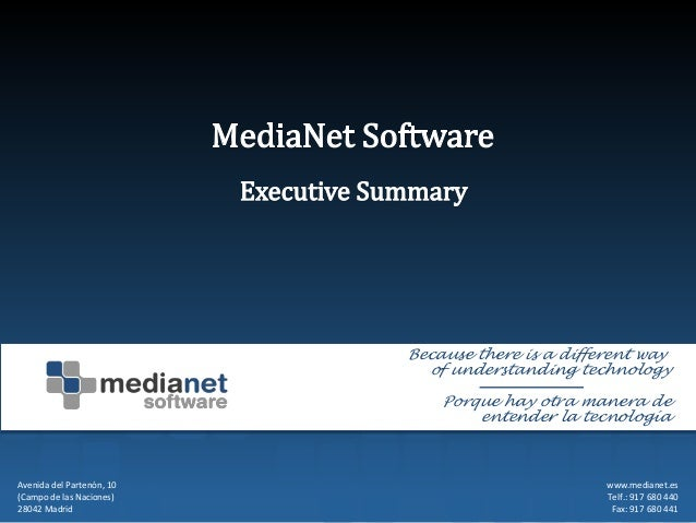 Media Net Software