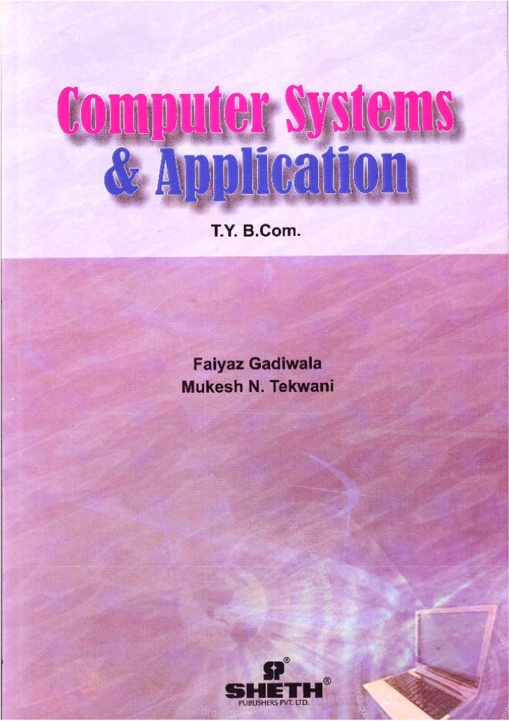 TYBCom Computer Systems and Applications
