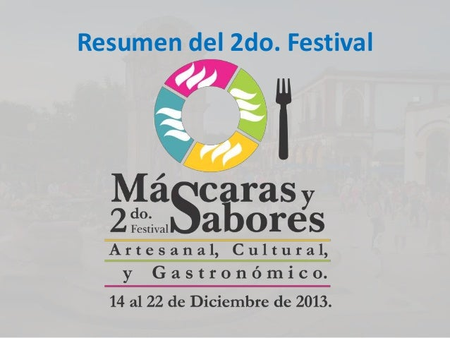 Resumen del 2do. Festival