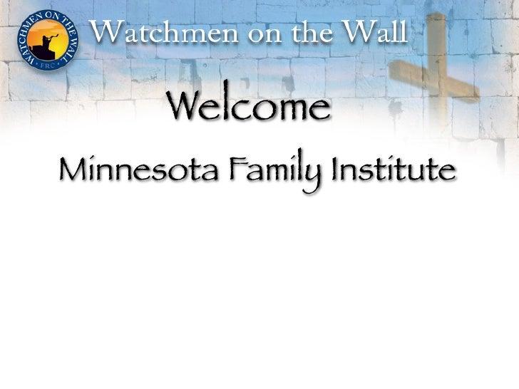 WelcomeMinnesota Family Institute