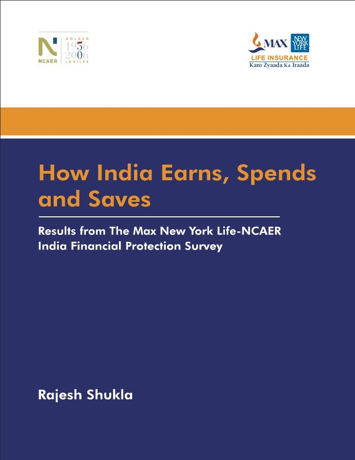 Mnyl Ncaer Book   How India Earns, Spends And Saves