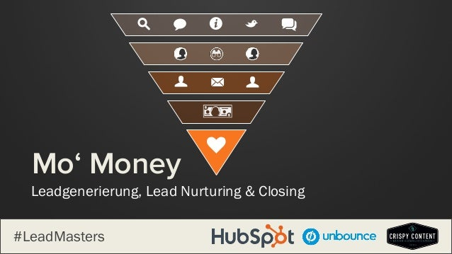 Leadgenerierung, Lead Nurturing & Closing Mo' Money qs w i B MU U k #LeadMasters