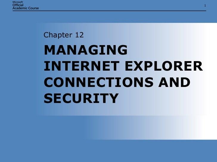 IT103Microsoft Windows XP/OS Chap12