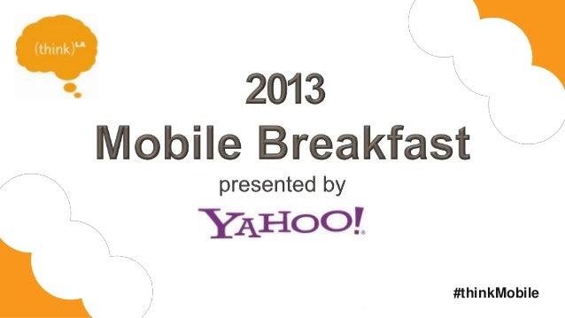 Mobile Breakfast 2013 - Henry Blodget Presentation