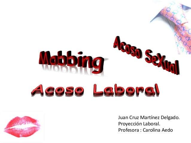 Juan Cruz Martínez Delgado. Proyección Laboral. Profesora : Carolina Aedo