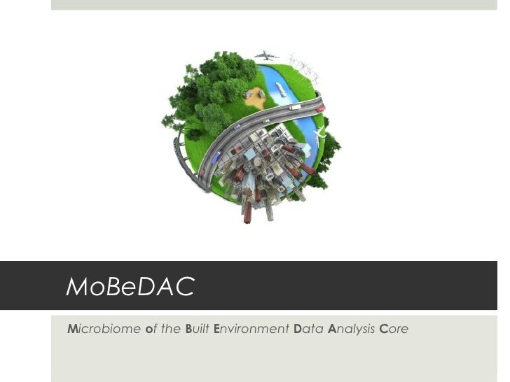 MoBeDACMicrobiome of the Built Environment Data Analysis Core