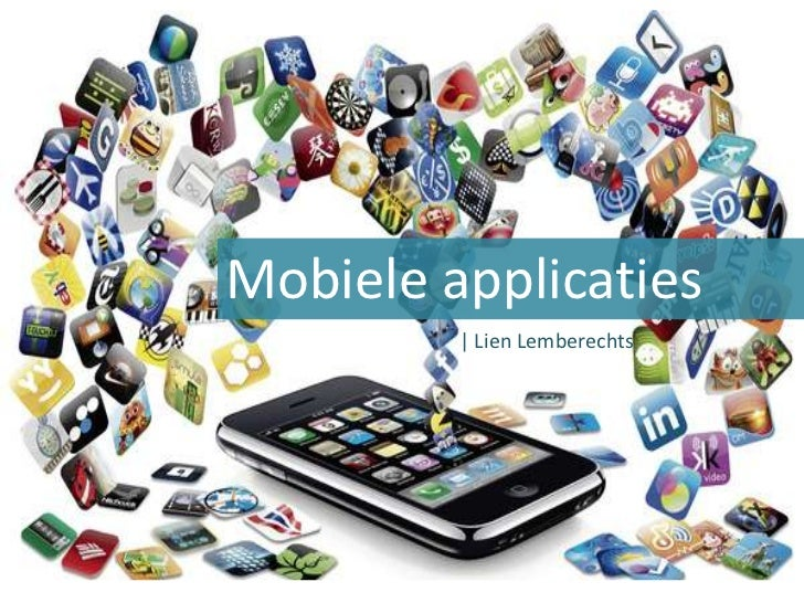 Mobile AppsMobiele applicaties         | Lien Lemberechts