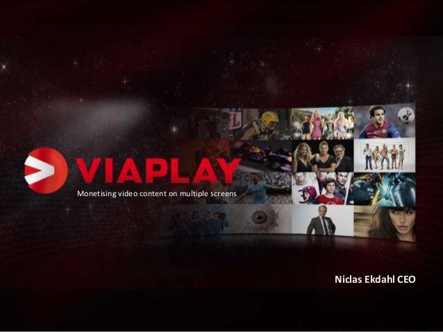 [Mobile Future] Niclas Ekdahl | Viaplay