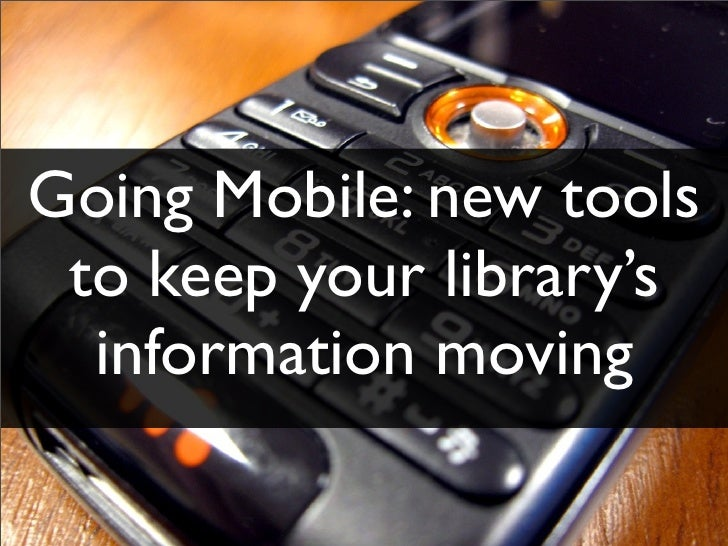 Going Mobile - AALL mobile apps presentation