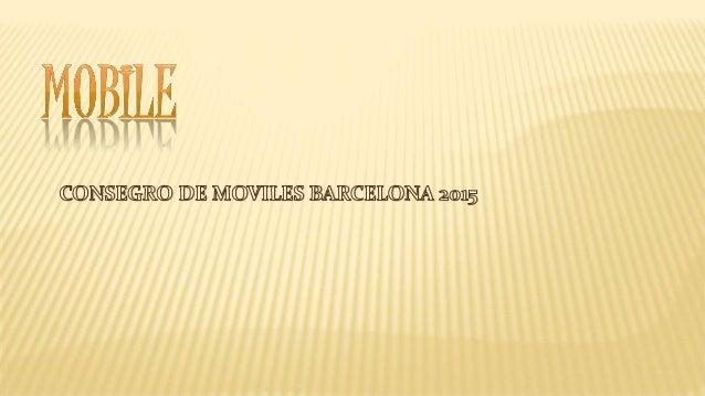 El Mobile World Congress reune hasta el jueves en Barcelona a más de 2.000 expositores, en la feria más importante del mun...
