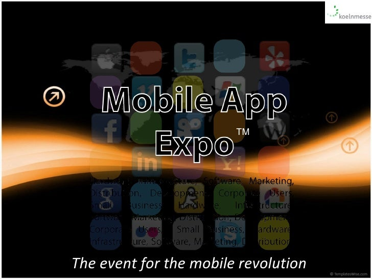 The event for the mobile revolution TM