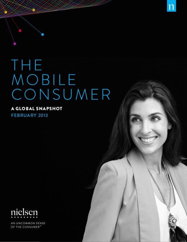 Mobile Consumer Report 2013