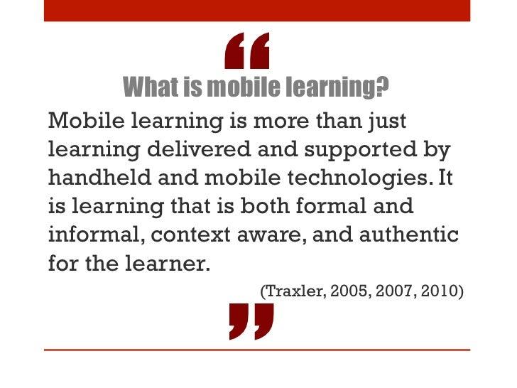 Dissertation On Mobile Learning