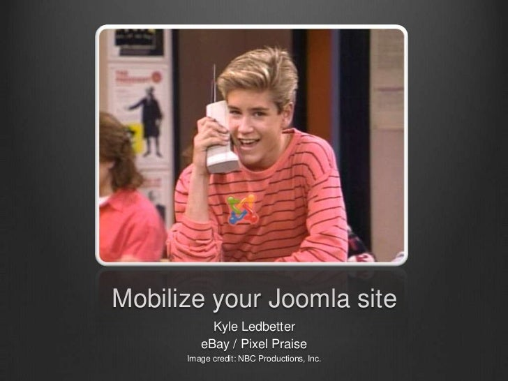 Mobilize Joomla