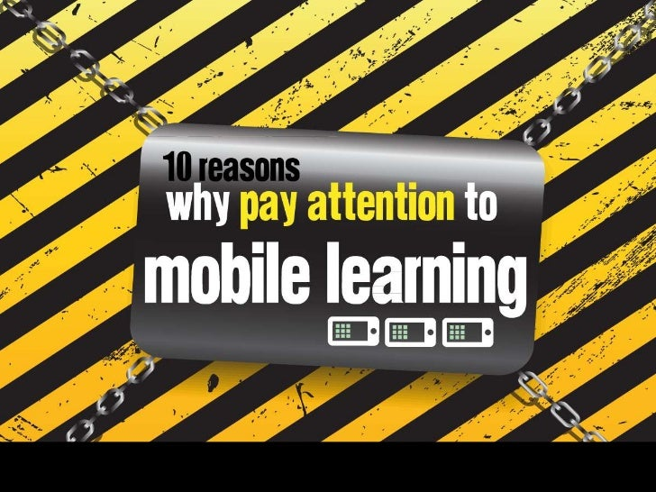 why mobile learning