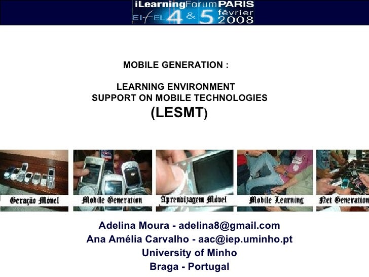 Mobile Learning Environment