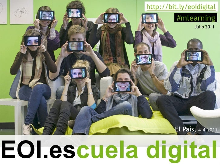 Mobile Learning EOI Escuela Digital