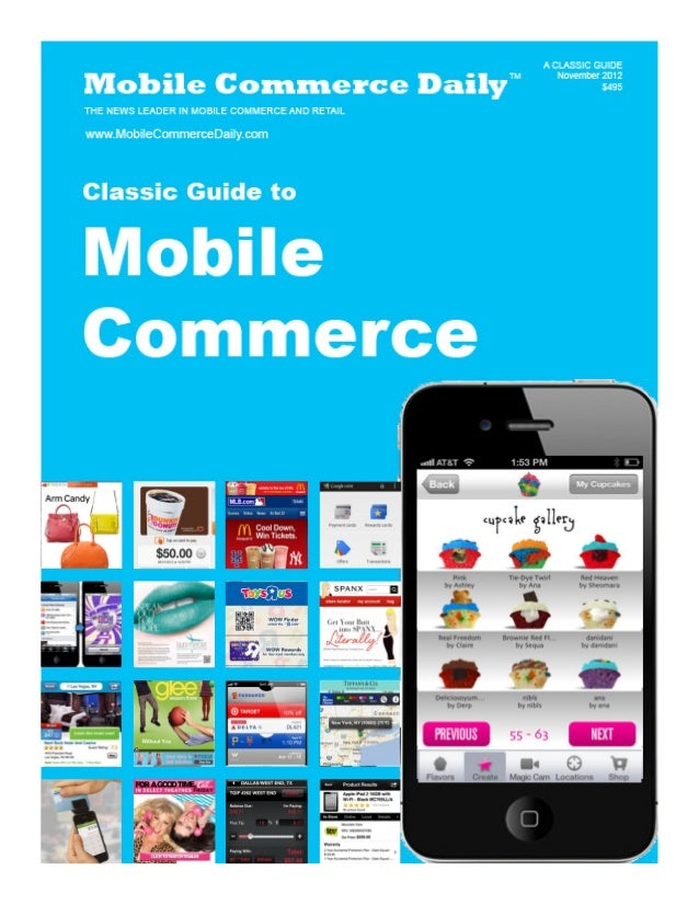 Mobile Marketer Guide to m-Commerce November 2012