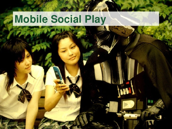 Mobile Social Play @ Reboot 9.0