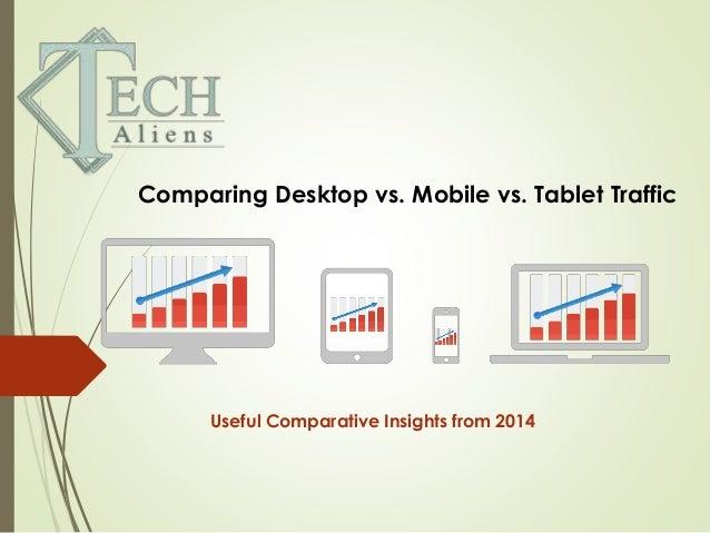 Mobile Tablet Desktop Comparing Desktop vs Mobile