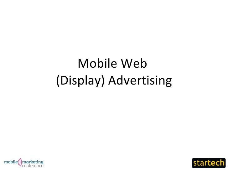 StarTech - Mobile Web (Display) Advertising
