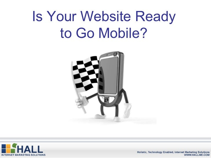 Is Your Website Ready to Go Mobile?