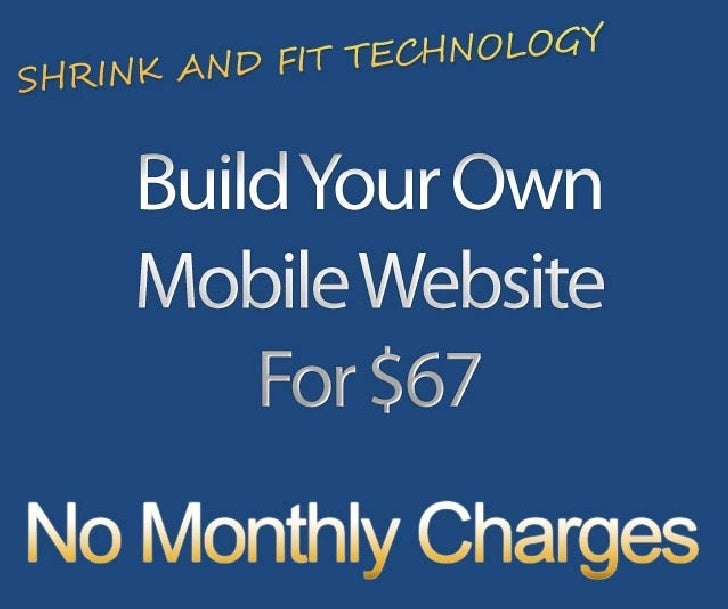 How To Build Your Own Mobile Website
