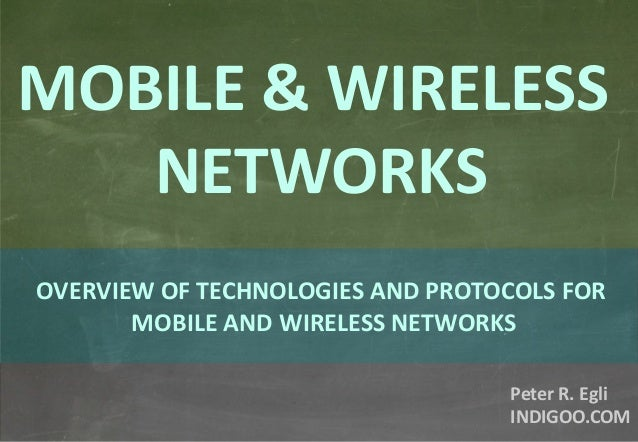 Mobile wireless-networks