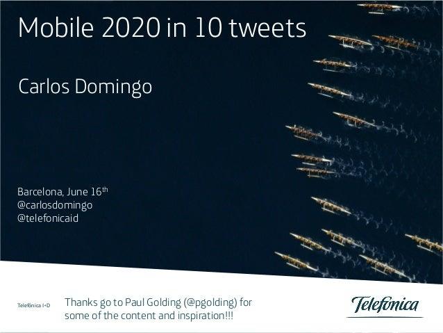 Telefónica I+D 1 1 Telefónica Servicios Audiovisuales S.A. / Telefónica España S.A. Título de la ponencia / Otros datos de...