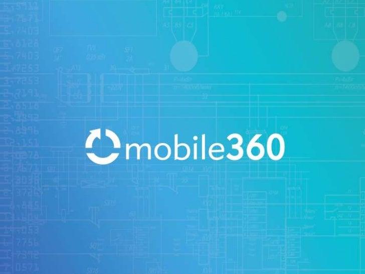 ¿QUIENES SOMOS?MOBILE360 es una empresa fundada con elobjetivo de ayudar a empresas y agencias a llevar, de maneracorrecta...