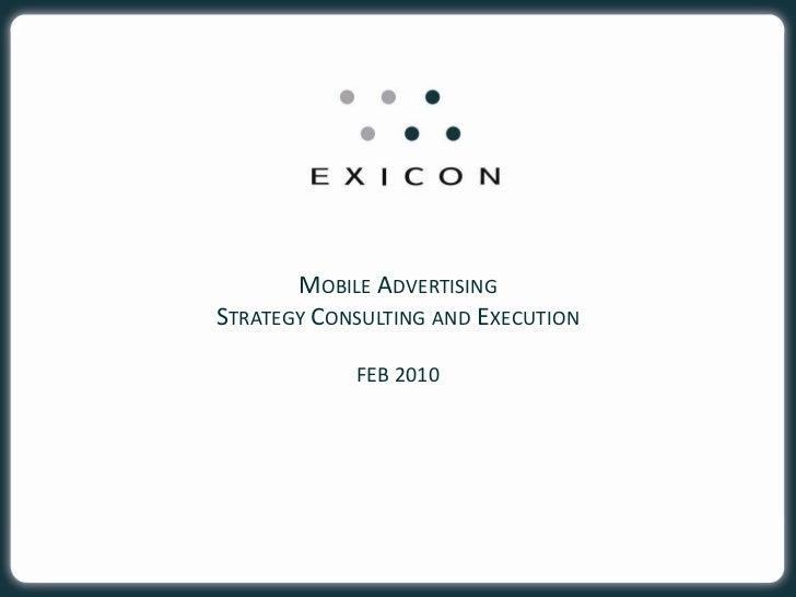 Mobile Advertising Mar 10