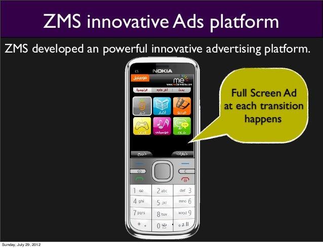 Zms Innovative Ads Platform