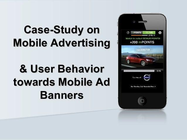 Mobile Advertising & User Behaviour