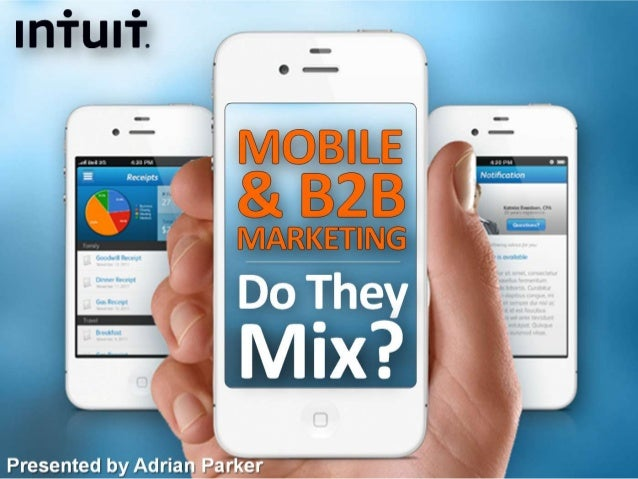 Mobile and B2B Marketing: Do They Mix?