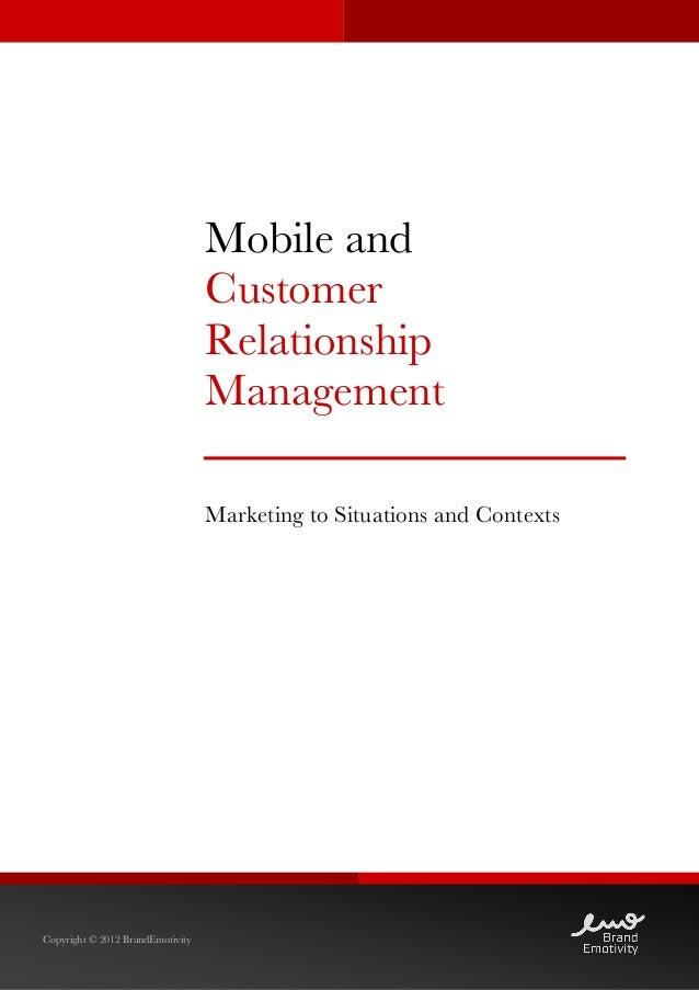 Mobile and                                  Customer                                  R...