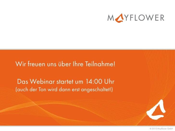 Wir freuen uns über Ihre Teilnahme!Das Webinar startet um 14:00 Uhr(auch der Ton wird dann erst angeschaltet!)            ...
