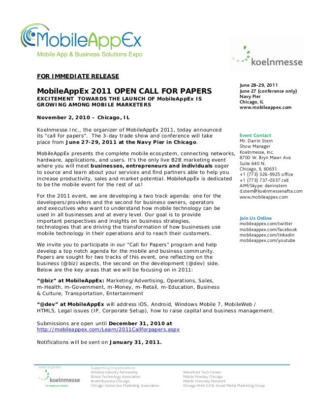 Supporting Organizations Wireless Industry Partnership Wavefront Tech Center Illinois Technology Association Mobile Monday...