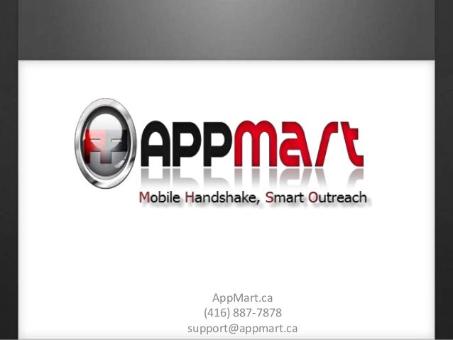 Mobile app for small businesses by appmart