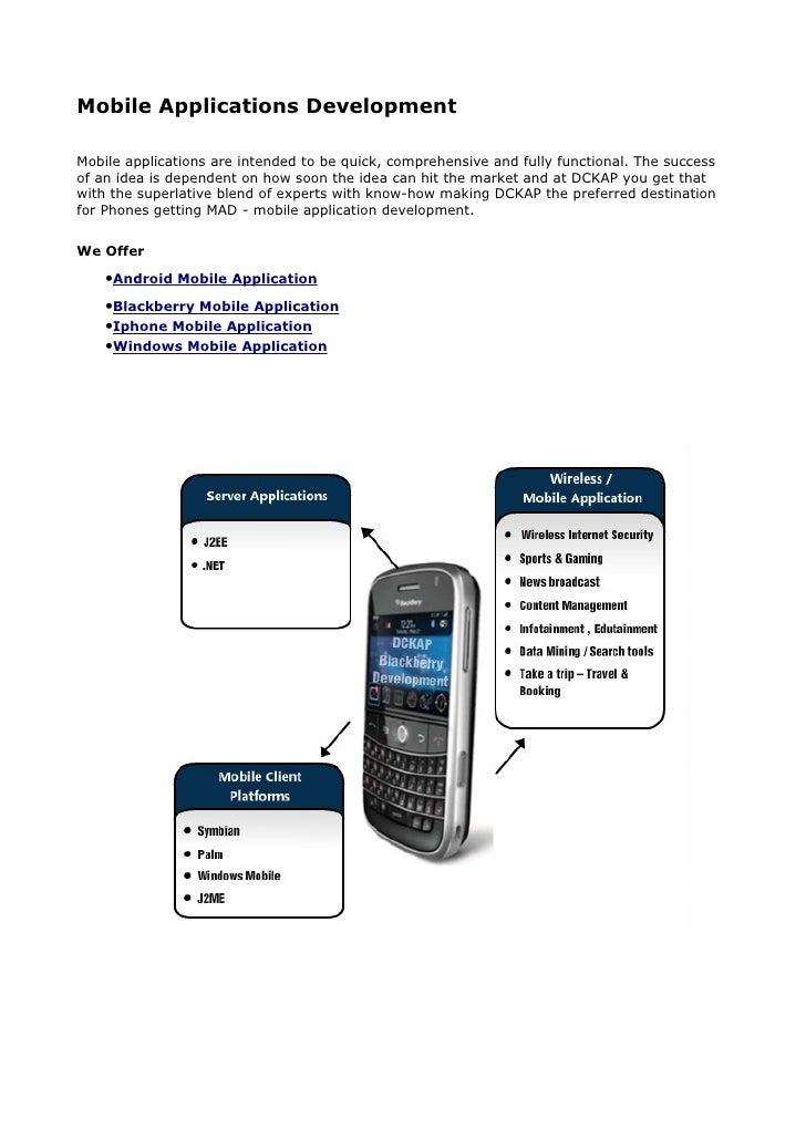 Mobile Application Developer | Mobile Application Development | Mobile Web Apps Developer