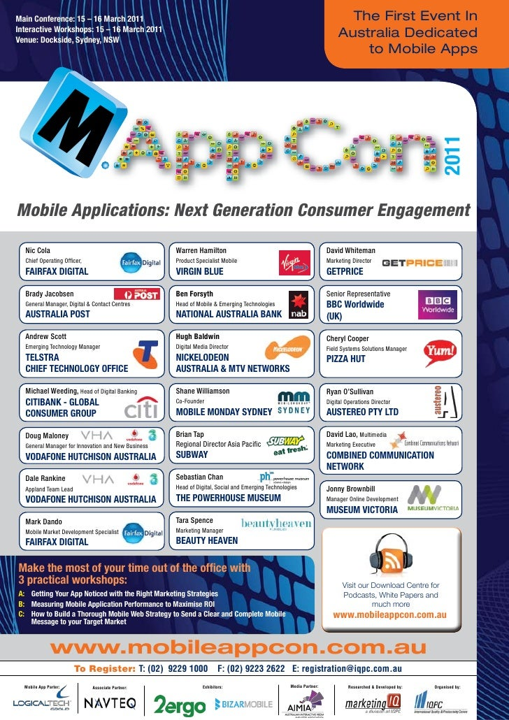Mobile Applications 2011