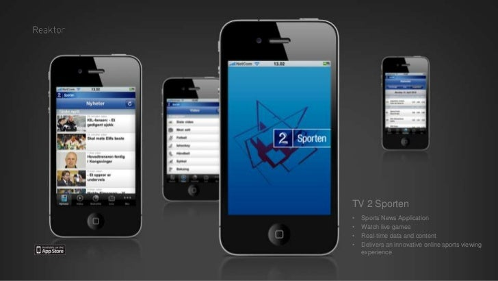 Mobile Applications by Reaktor