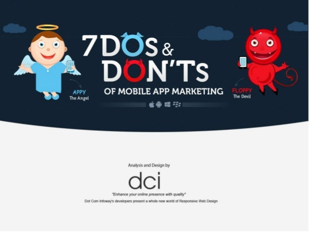 7 Dos and Don'ts of Mobile App Marketing - Infographic