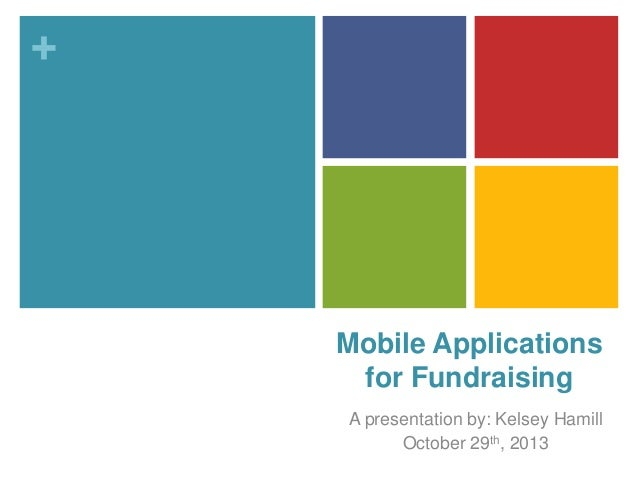 Mobile Applications for Fundraising